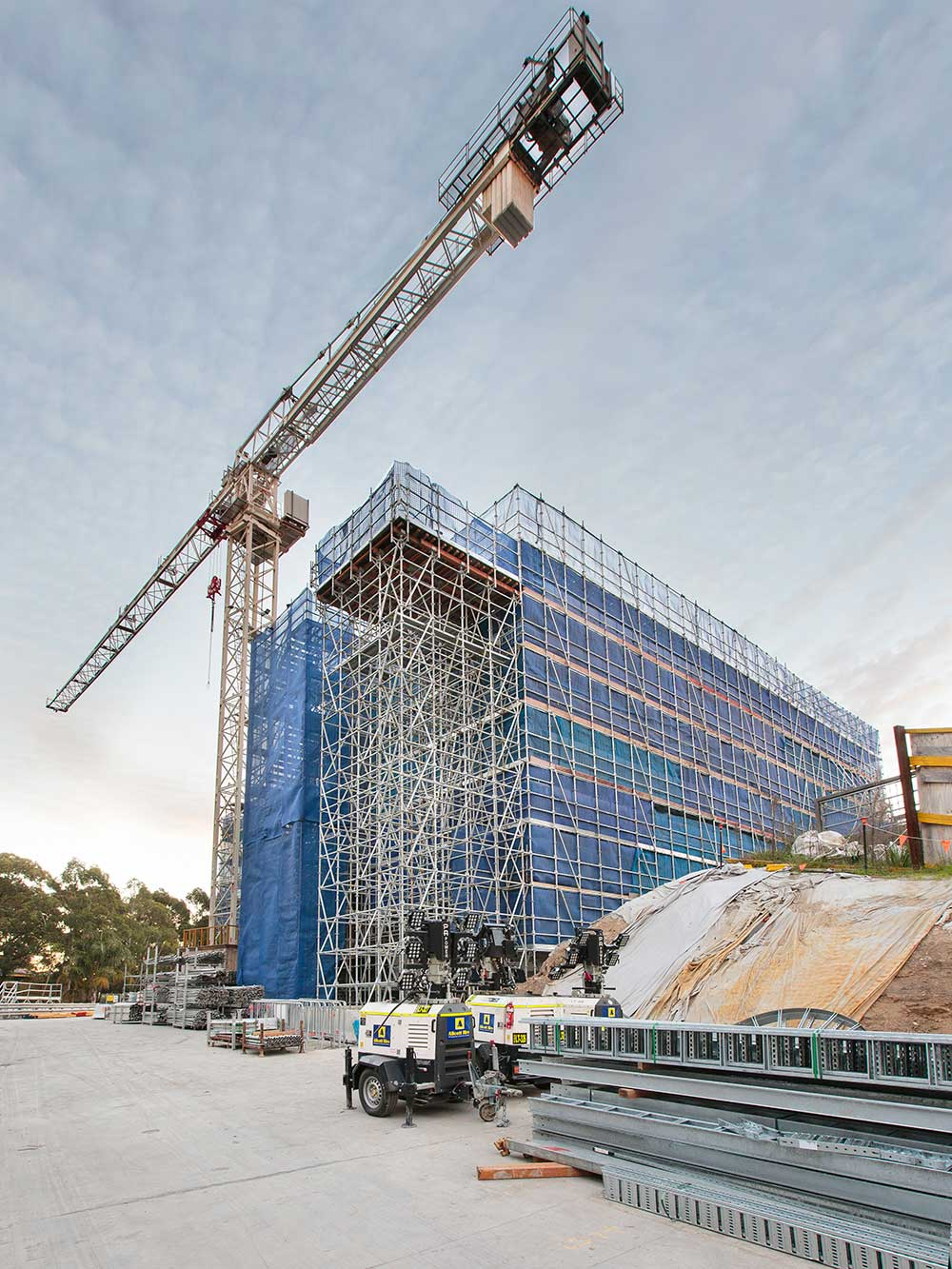 An-CO, Scaffolding projects, WestConnex M5