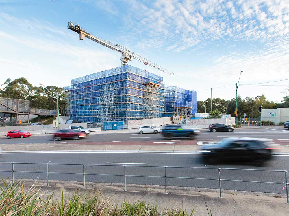 An-CO, Scaffolding projects, Westconnex M5 M5