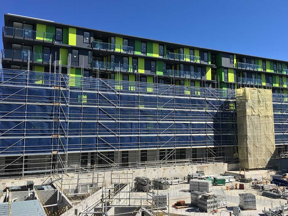 An-CO, Scaffolding projects, Commonwealth Games Village